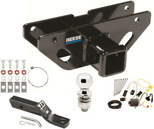 2004 2009 Dodge Durango Complete Trailer Hitch Package W Wiring Kit Class 3 New