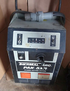 1 Used Thermal Arc Pak 5xr Plasma Cutting Control make Offer