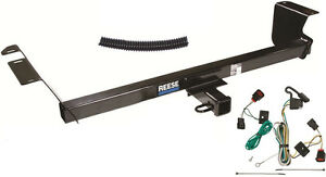 Trailer Hitch W Wiring Kit Fits 2009 2012 Vw Routan Brand New Class Iii Reese