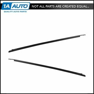 Oem Belt Weatherstrip Sweep Rear Outer Pair Kit Set Of 2 For Tundra Crewmax New