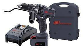 Ingersoll Rand D5140 K1 20v 3 0 Ah Cordless Lithium Ion 1 2 In Drill Driver Kit