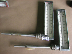 Lot Of 2 New Palmer Thermometer 100 550 F With 8 Sst Side Probe 368l