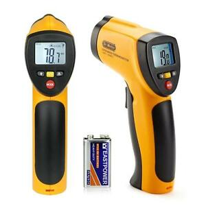 Dr Meter non contact Lcd Ir Laser infrared Digital Temperature Thermometer Gun