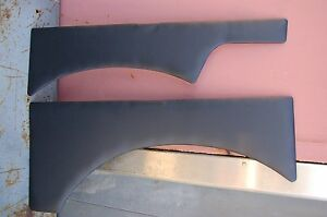 Suzuki Samurai Ragtop Quarter Panels Pair Black Vinyl New