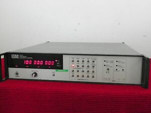 Systron Donner 6030 Microwave Frequency Counter 10hz 26 5ghz W opt 02 04 06