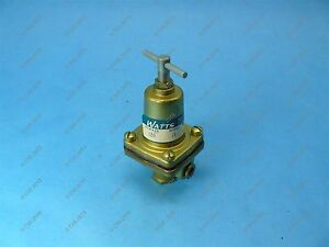 Watts N26 Model M Regulator 1 8 3 50 Psi New