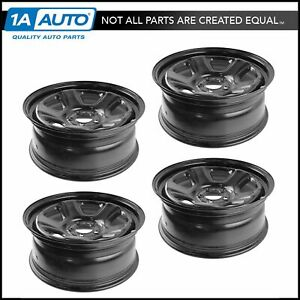 Oem 18 X 7 5 Steel Wheel Black Set Of 4 For Charger Magnum Challenger New