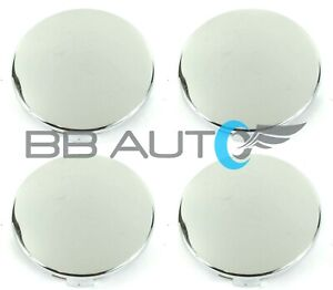 Set Of 4 New Chrome Wheel Hub Center Caps 3 25 For Toyota Tundra Tacoma Sequoia