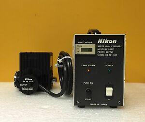 Nikon Hb 10101af Hg 100 W High Pressure Mercury Lamp Power Supply Lamphouse