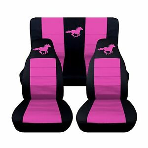 1994 To 2004 Ford Mustang Convertible Horse Seat Covers Choose Your Colors