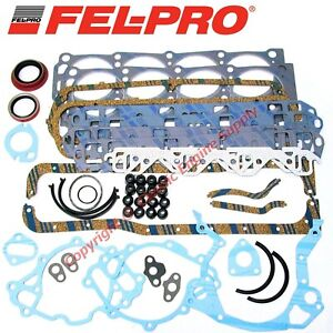 New Fel Pro Engine Overhaul Gasket Set 1962 1983 Ford Sb 302 289 260