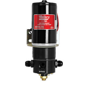 Msd Mallory 29269 250gph High Performance Electric Fuel Pump Fr