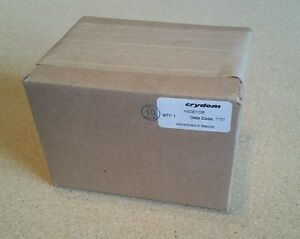 new In Box Crydom Hs301dr Relay Heat Sink