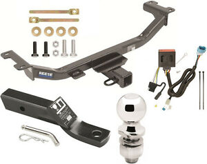Complete Trailer Hitch Package W Wiring Kit Fits 2013 2017 Acura Rdx Class Iii