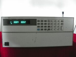 Agilent N3300a Dc Electronic Load Mainframe 1800w