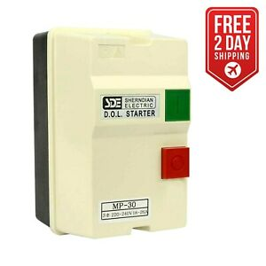 Big Horn 18837 3 phase 220 240 volt 7 5 hp 18 26 amp Magnetic Switchcsa Approved