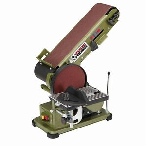 Belt Disc 34 HP 4 x 36 Grinder Miter Bevel Workshop Combination Sander FEDEX