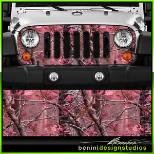 4 x4 Vinyl Wrap Sheet Decal Skin Pink Real Tree Camo J033