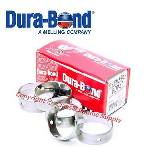 New Pdp17 Durabond Performance Cam Bearing Set Chrysler Bb 383 400 413 426 440