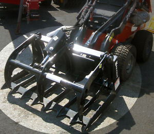 Thomas 42 Inch Miniature Skid Steer Grappling Attachment
