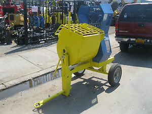 Stone Electric Engine Mortar Mixer 9 Cubic Feet
