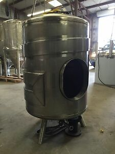 3 Barrel Jacketed Single Wall Brite Tank Brewery Stainless Steel