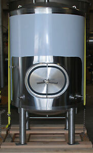 7 Barrel Brite Bright Beer Tank New Stainless 100 Made In The Usa