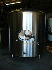 60 Barrel Brite Bright Beer Tank New Stainless 100 Usa