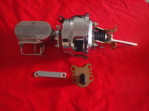 1965 1968 Ford Galaxie Chrome Power Brake Booster Master Proportioning Valve Pv4
