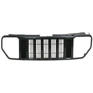 Grille For 2008 2011 Jeep Liberty Paint To Match Plastic Fits Jeep Liberty