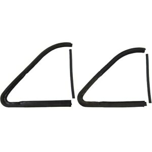 1953 1954 Plymouth 2dr 4dr Post Dodge Wagons Vent Front Window Seal Kit
