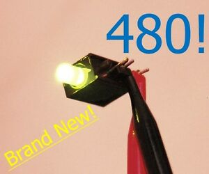 480 Sunled Right Angle Led Indicator Emitting Colors Bright Red Green Diffuse