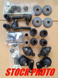 1962 65 Ford Fairlane Performance Poly Suspension Rebuild Kit Front End ms Only