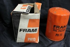 Vintage Nos Fram Oil Filter Ph13 Chevrolet Cars Trucks 1964 1968
