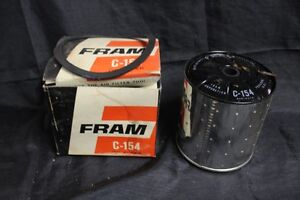 Vintage Nos Fram Oil Filter C 154 Replace S Michina Sa 15417