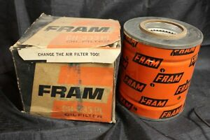 Vintage Nos Fram Oil Filter Ch 333pl Replaces Ihc International Trucks
