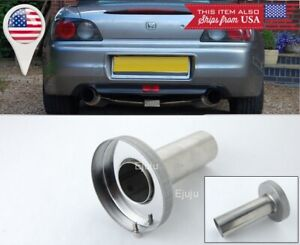 Silver Removable Stainless Muffler Silencer Insert For Dodge 4 N1 Exhaust Tip