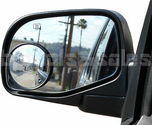 3 Wide Angle Convex Blind Spot Rear Side View Mirrors Car Truck Universal Fit