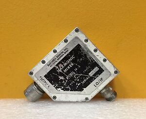 Scientific Atlanta 14 5 1 0 To 18 0 Ghz Type N m f Coaxial Harmonic Mixer