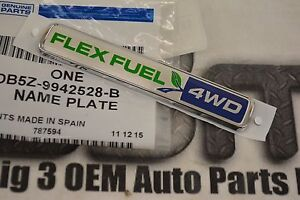 2013 2015 Ford Explorer 4wd Flex Fuel Liftgate Nameplate New Oem Db5z 9942528 B