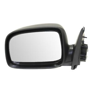 Power Mirror For 2004 2012 Chevrolet Colorado Textured Black Front Driver Side
