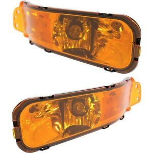 Turn Signal Light Set For 2005 2009 Ford Mustang Assembly Left Right 2pc