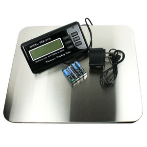 660lbs X 0 1 Lb Digital Floor Bench Scale Steel Platform For Shipping Postal Pet
