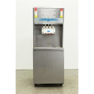 Used Taylor Y8756 33 3 Head Soft Serve Ice Cream Machine