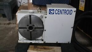 4th Axis Cnc Rotary Table Full Fourth Axis Centroid Rt 200