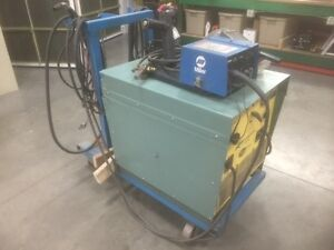 Linde Wire Feed Welder Model V1 252 With Miller 24v Wire Feed