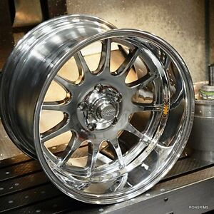 16x8 Custom Bild American Racing Vn477 Wheels gm Chevy Ford Dodge Rods