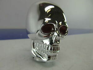 Chrome Metal Skull Shift Knob For Datsun Nissan Toyota Honda Kia Hyundia Mazda