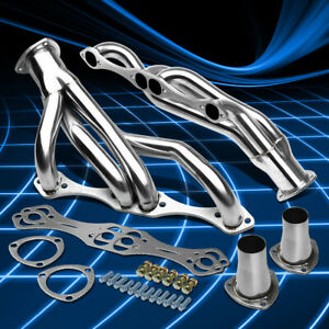 For Chevy Sbc Small Block A f g Body Stainless Clipster Header Manifold Exhaust