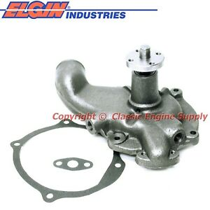 New Elgin Wp488 Water Pump Fits Some Ford 272 292 312 Y block V8 Engines